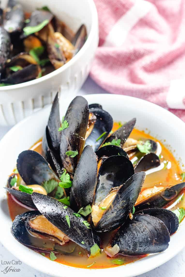 image of spicy mussels soup