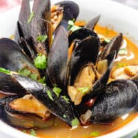 featured spicy mussel soup image