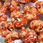 BBQ Grilled Shrimp Skewers (Spicy)