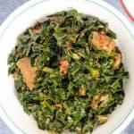 Sukuma WIki kenyan braised collard greens
