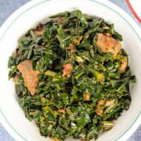 Sukuma WIki kenyan braised collard greens