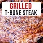 grilled t-bone steak pinterest
