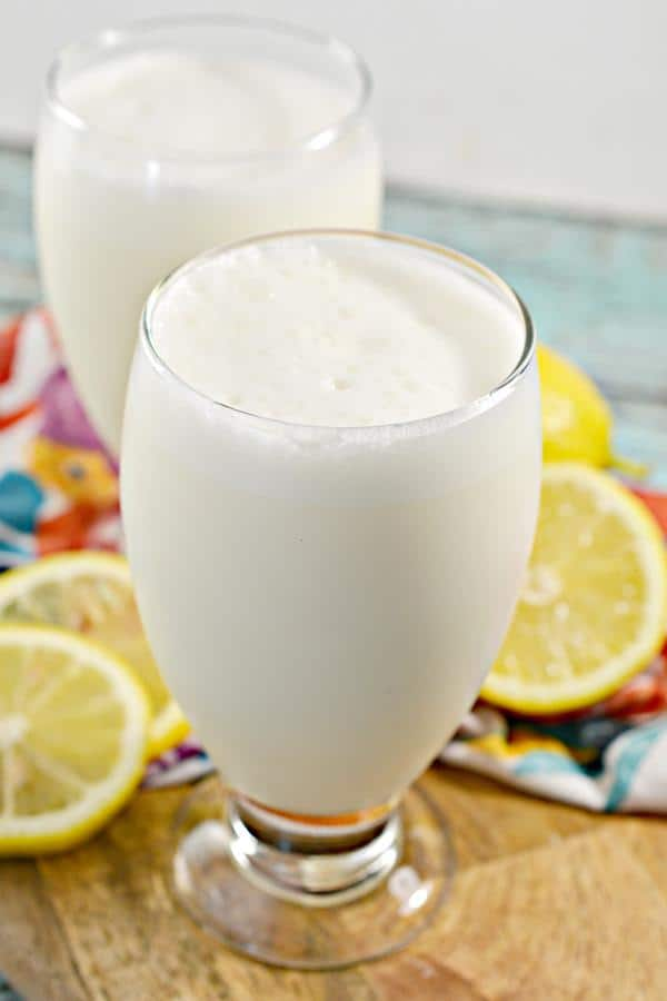 Keto Copycat Chick Fil A Frosted Lemonade