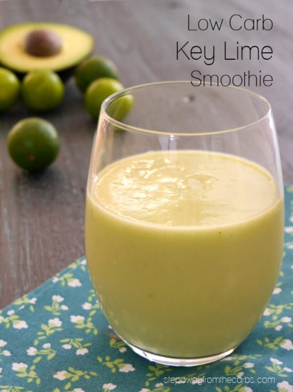 Low Carb Key Lime Smoothie