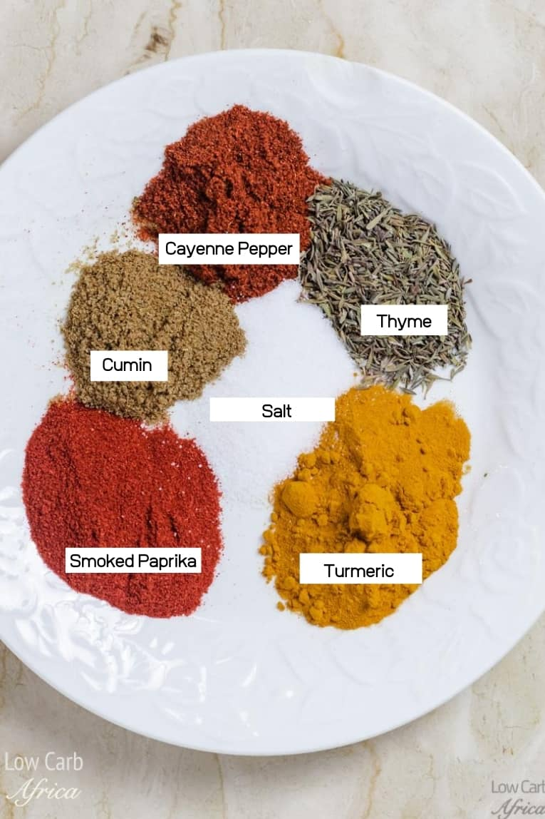 spices used in making rougaille saucisse