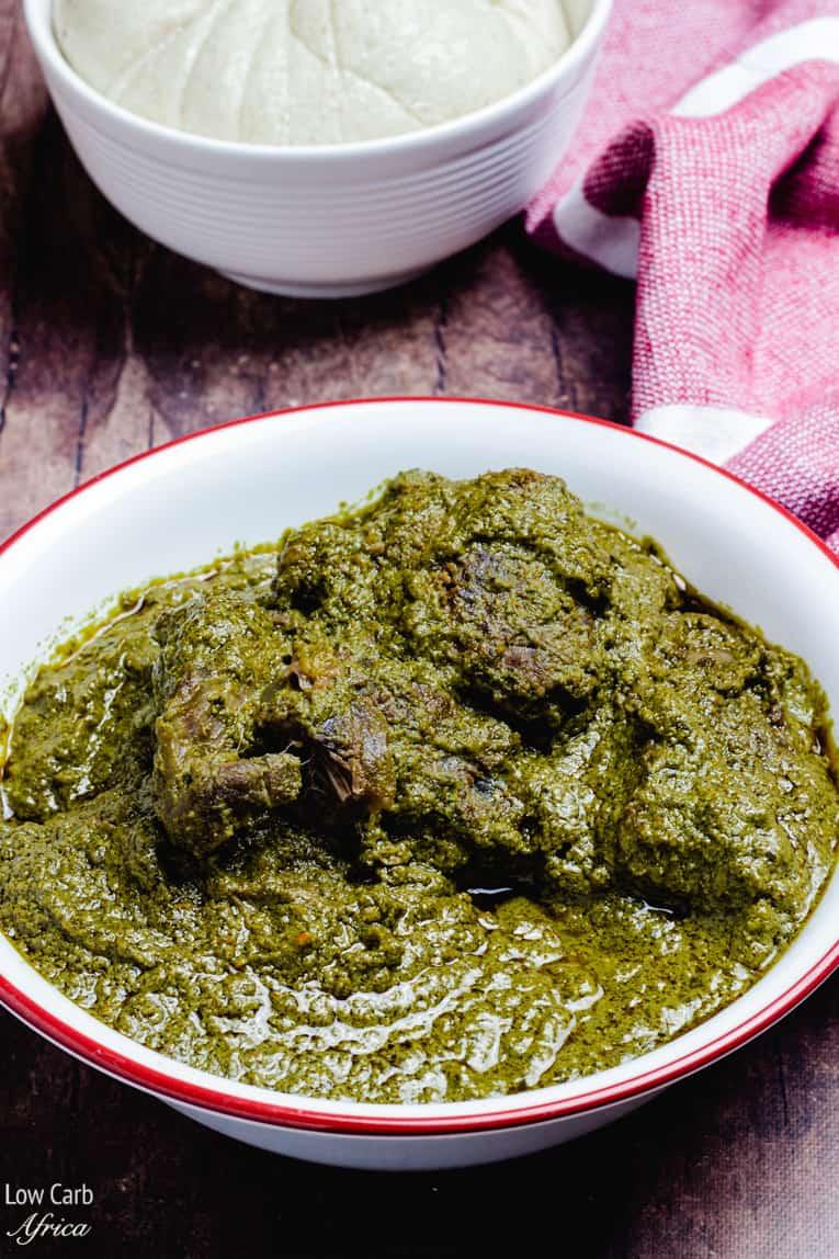 Edo esan soup (Efirin soup)