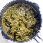 Efirin Soup (Nigerian Scent Leaf Soup/Black Soup)