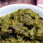Efirin Soup (Scent Leaf Soup)-pinterest