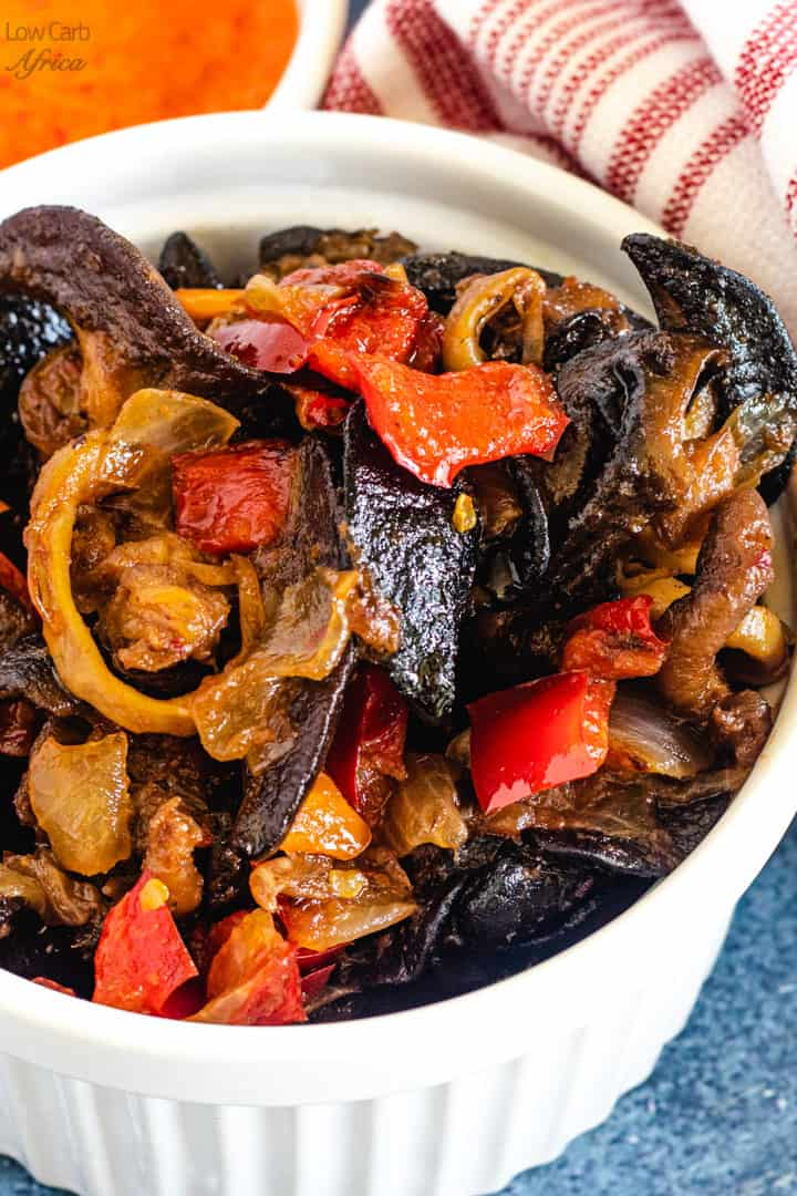 Peppered Snails Nigerian Snail Recipe Low Carb Africa