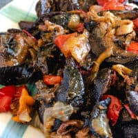 Nigerian peppered snail recipe