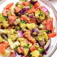 Kachumbari - Kenyan tomato and onion salad featured image