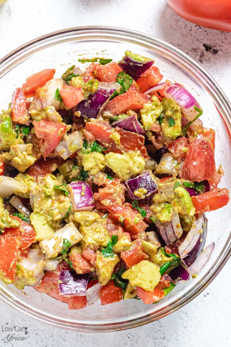 East african tomato and onion salad