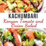 kachumbari salad pinterest