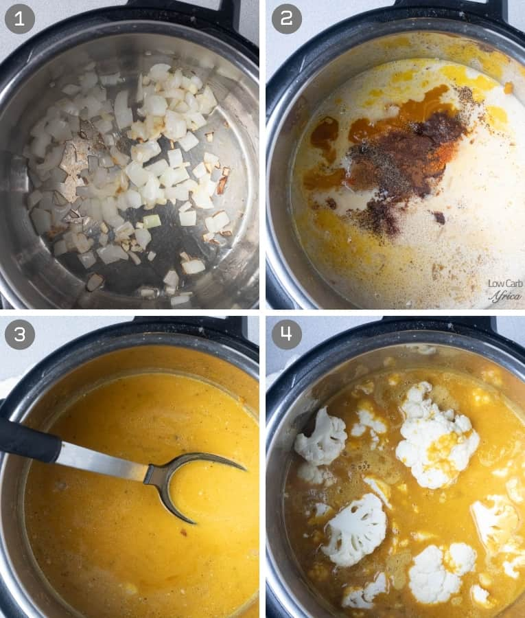 steps on how to make pumpkin soup