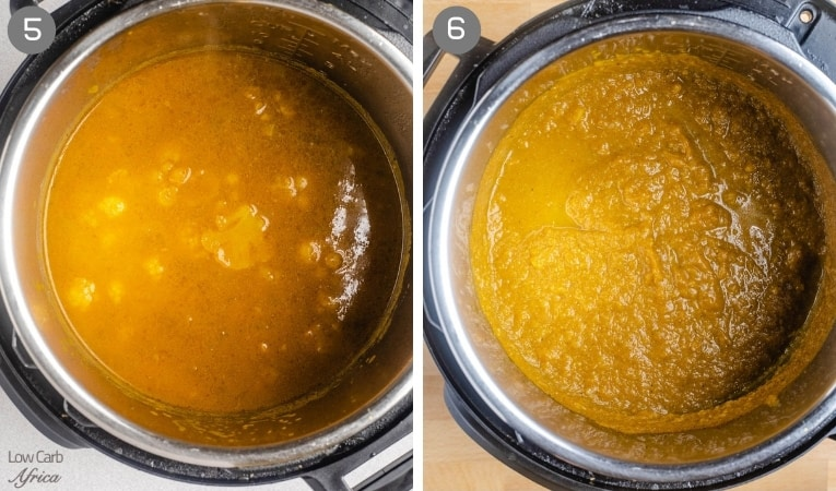 puree pumpkin in instant pot