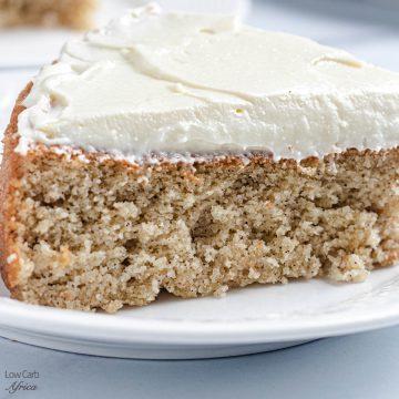 low carb keto spice cake