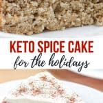 Keto Spice Cake-pinterest