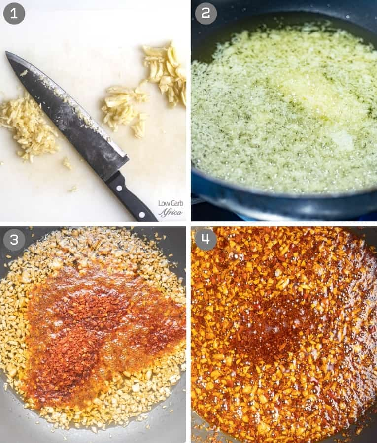 steps on how to create chili oil