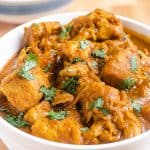 featured image for instant pot pumpkin chicken curry