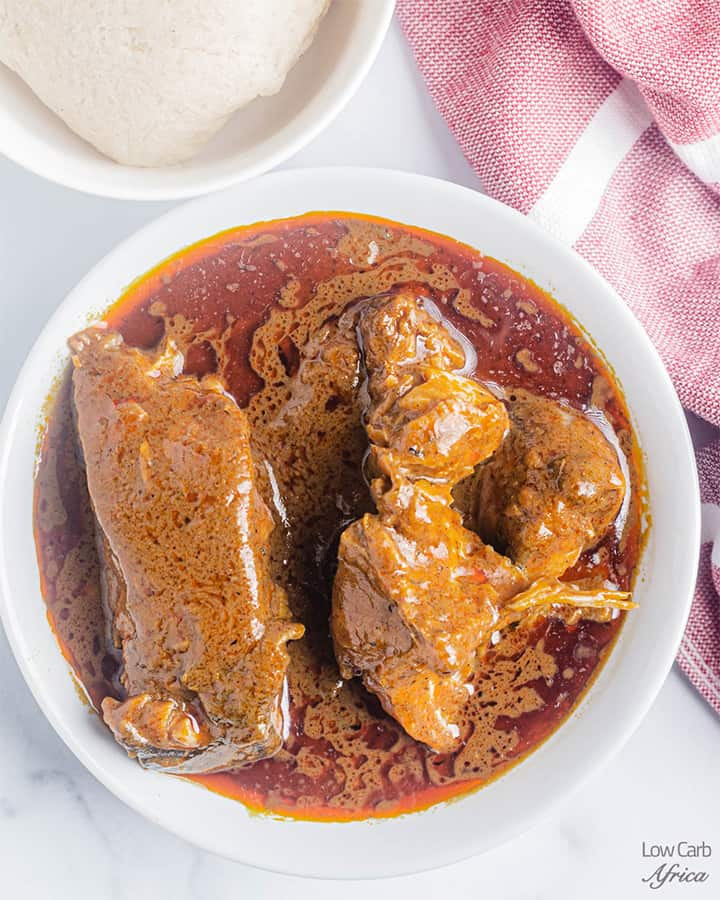 banga soup also known as palm nut soup is a staple in Africa