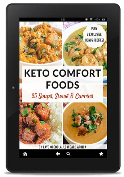 keto comfort foods cover