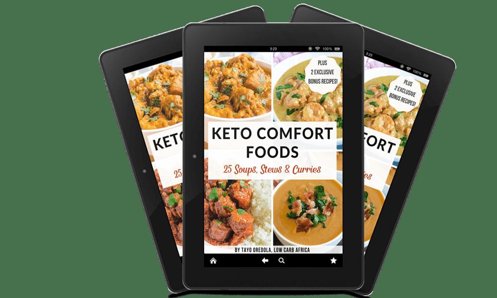 keto comfort foods tablets
