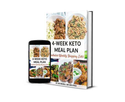 keto meal plan-transparent background