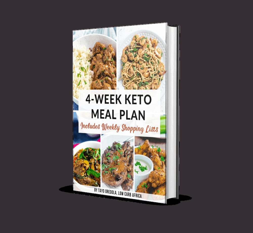keto meal plan ebook cover