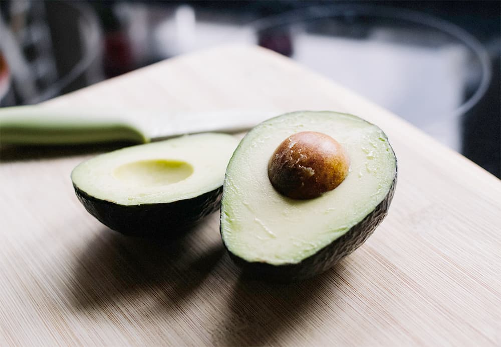 image of avocados on a table