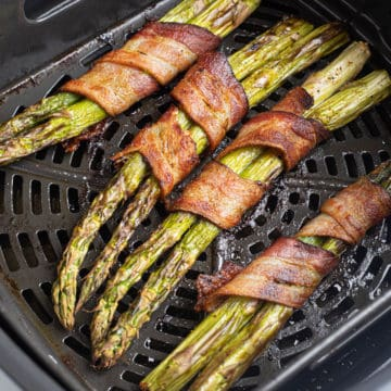 bacon wrapped asparagus in air fryer