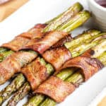 Air Fryer Bacon-Wrapped Asparagus