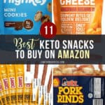 best keto snacks on amazon