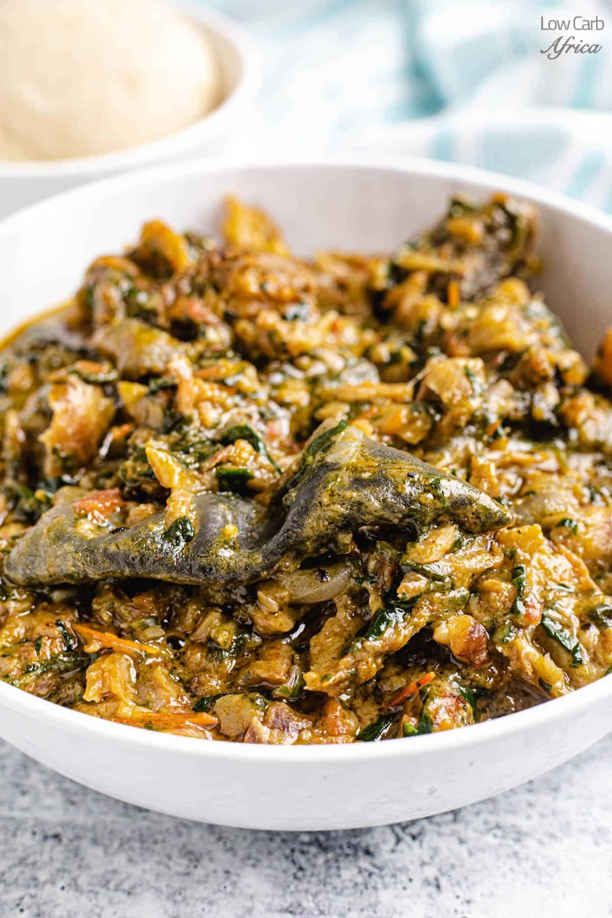 fumbwa congolese recipe