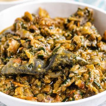 fumbwa congolese spinach stew