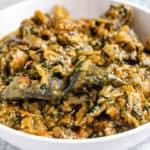 Fumbwa (Congolese Spinach Stew Recipe)