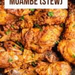 Moambe Chicken-Pinterest