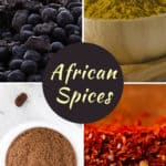 African spices and seasonings