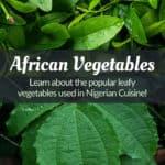 African Vegetables (Leafy Greens)