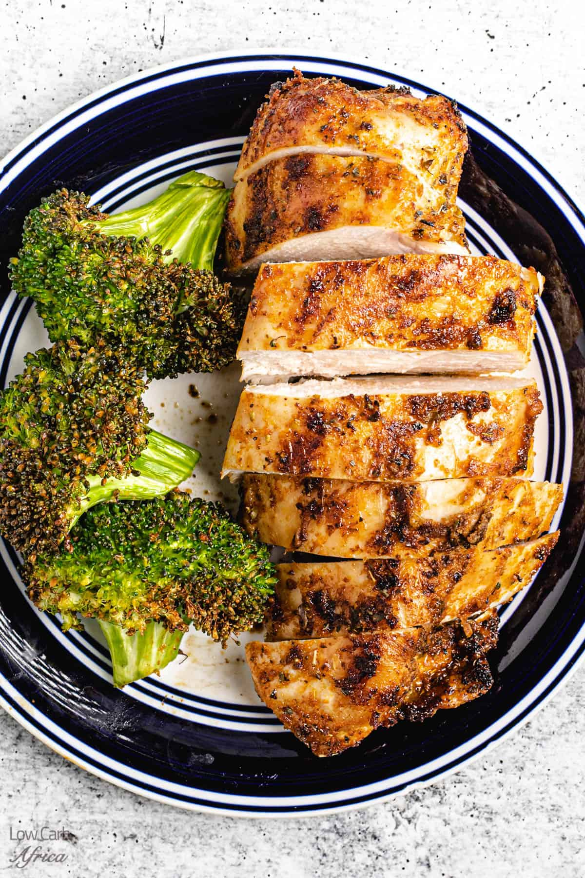 Air Fryer Chicken Breast with No Breading