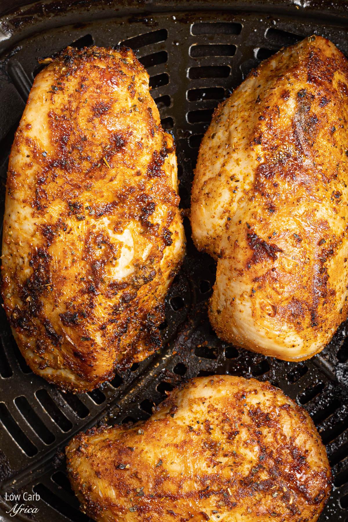 chicken breast in air fryer no breading