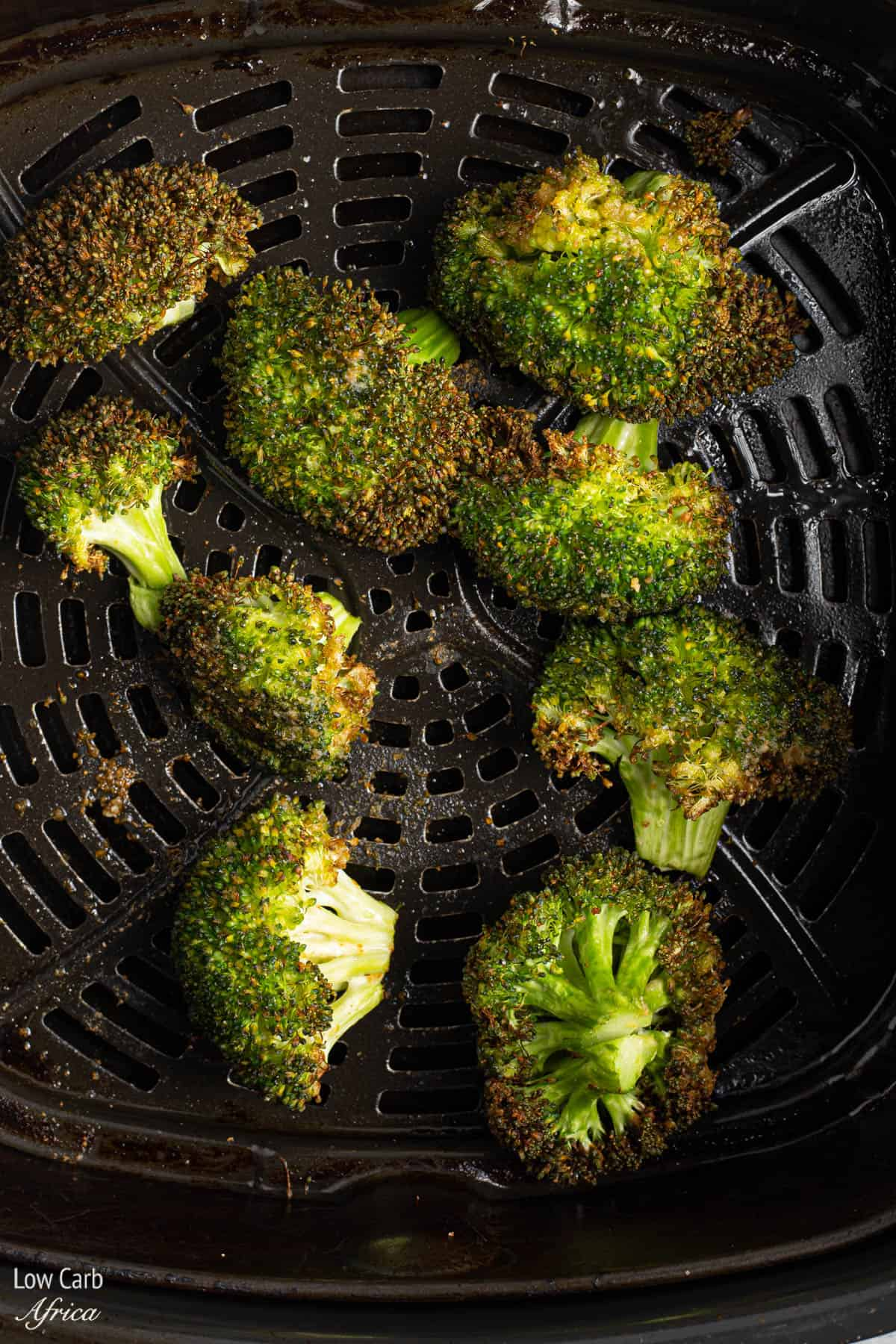 broccoli roasted in air fryer
