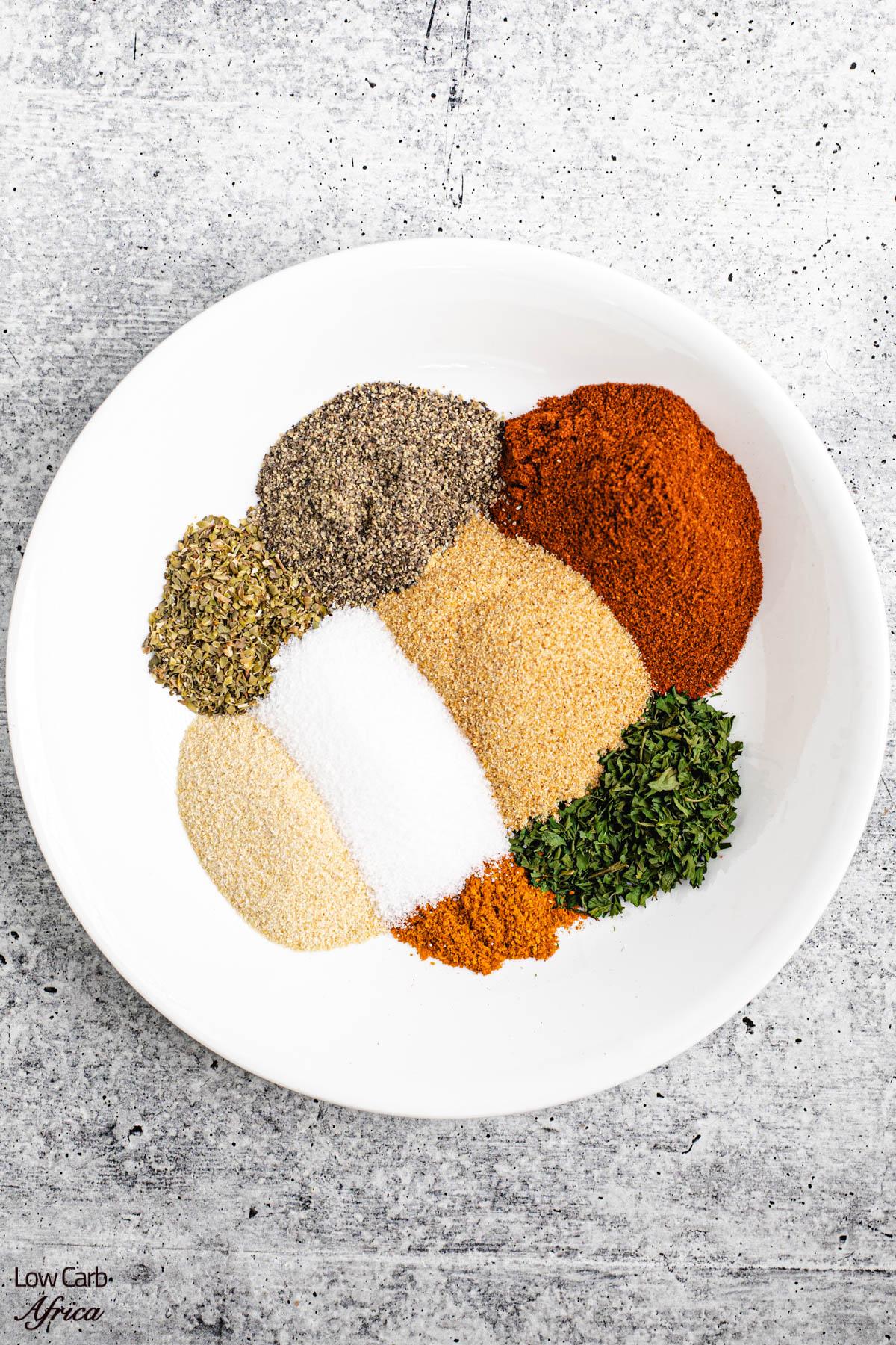 chicken seasoning ingredients