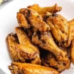 Frozen Chicken Wings in Air Fryer