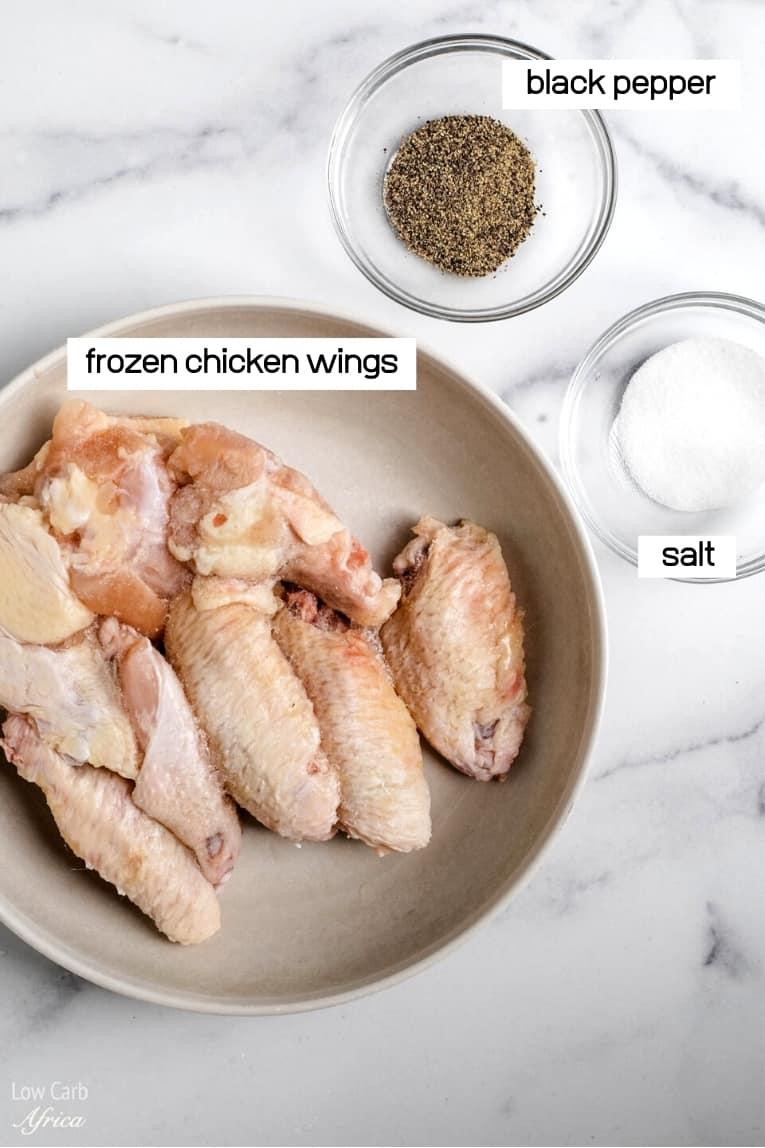 frozen chicken and spices