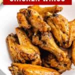 Frozen Chicken Wings in Air Fryer pinterest