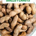 Instant Pot Boiled Peanuts-pinterest
