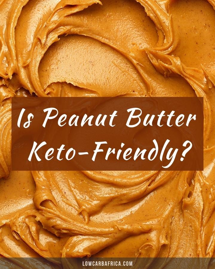 closeup image of peanut butter