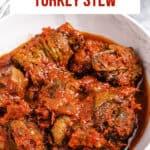 pinterest image for turkey stew